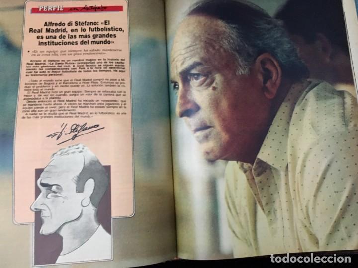 Coleccionismo deportivo: Historia viva del Real Madrid ( 1902-1987 ). Coleccionable ABC completo y encuadernado - Foto 5 - 195353321