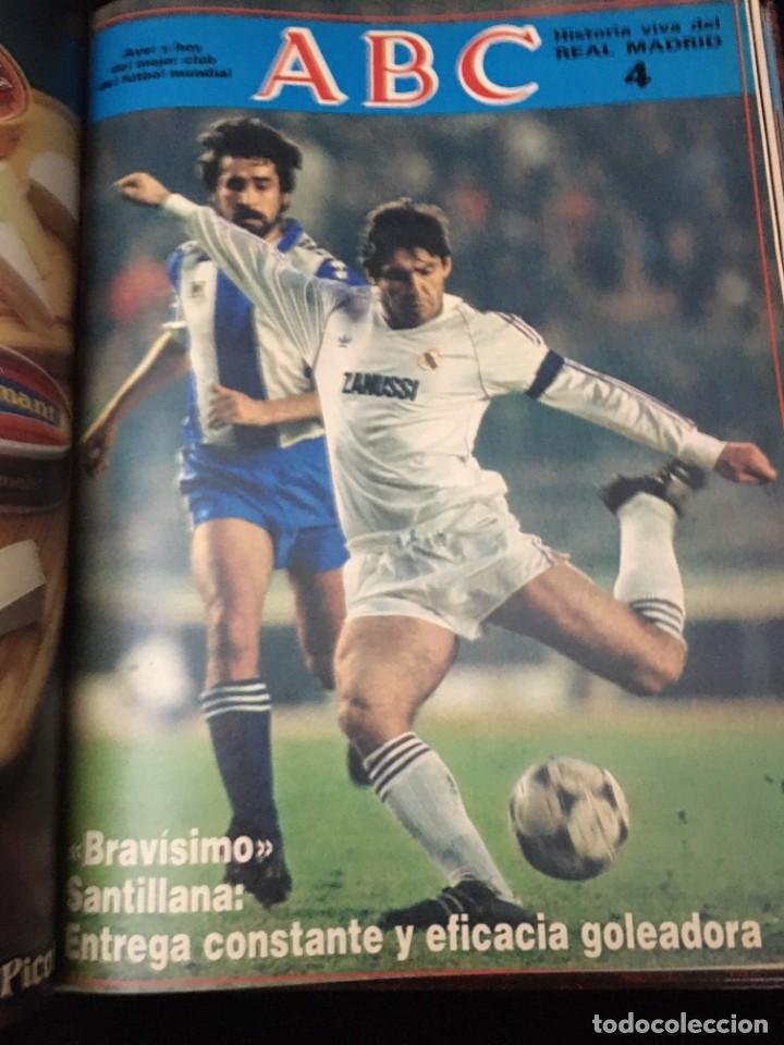 Coleccionismo deportivo: Historia viva del Real Madrid ( 1902-1987 ). Coleccionable ABC completo y encuadernado - Foto 6 - 195353321