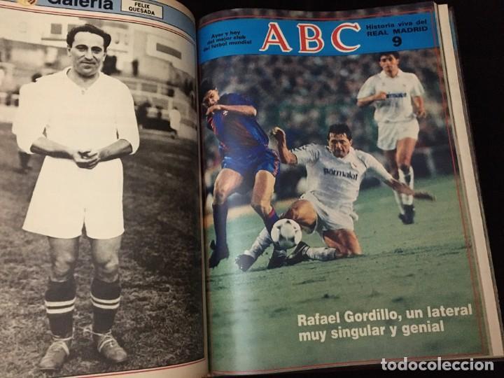 Coleccionismo deportivo: Historia viva del Real Madrid ( 1902-1987 ). Coleccionable ABC completo y encuadernado - Foto 7 - 195353321