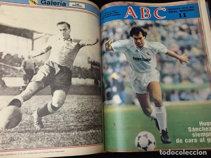 Coleccionismo deportivo: Historia viva del Real Madrid ( 1902-1987 ). Coleccionable ABC completo y encuadernado - Foto 8 - 195353321