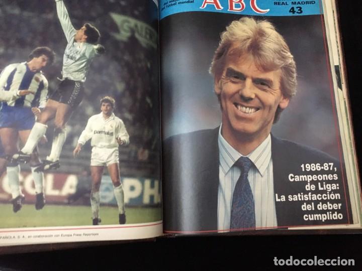Coleccionismo deportivo: Historia viva del Real Madrid ( 1902-1987 ). Coleccionable ABC completo y encuadernado - Foto 10 - 195353321