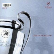 Coleccionismo deportivo: FC BARCELONA & MANCHESTER UNITED - PROGRAMA OFICIAL FINAL CHAMPIONS 2009. Lote 195354650