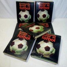 Coleccionismo deportivo: ENCICLOPEDIA MUNDIAL DEL FÚTBOL 6 TOMOS + LIBRO ESPAÑA 82. COMPLETA.. Lote 195426503