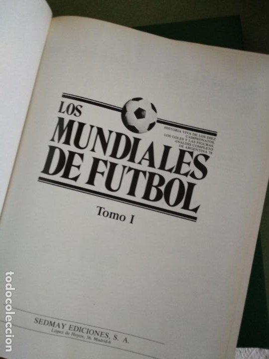 Coleccionismo deportivo: LOS MUNDIALES DE FÚTBOL COMPLETA TOMO 2. EDITORIAL SEDMAY - Foto 3 - 195477917