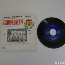 Coleccionismo deportivo: AGENDA ESTADISTICA EXTRA CAMPEONES/ ASI GANAMOS LA LIGA 1970-71 / CON DISCO / VALENCIA CF. Lote 195499650
