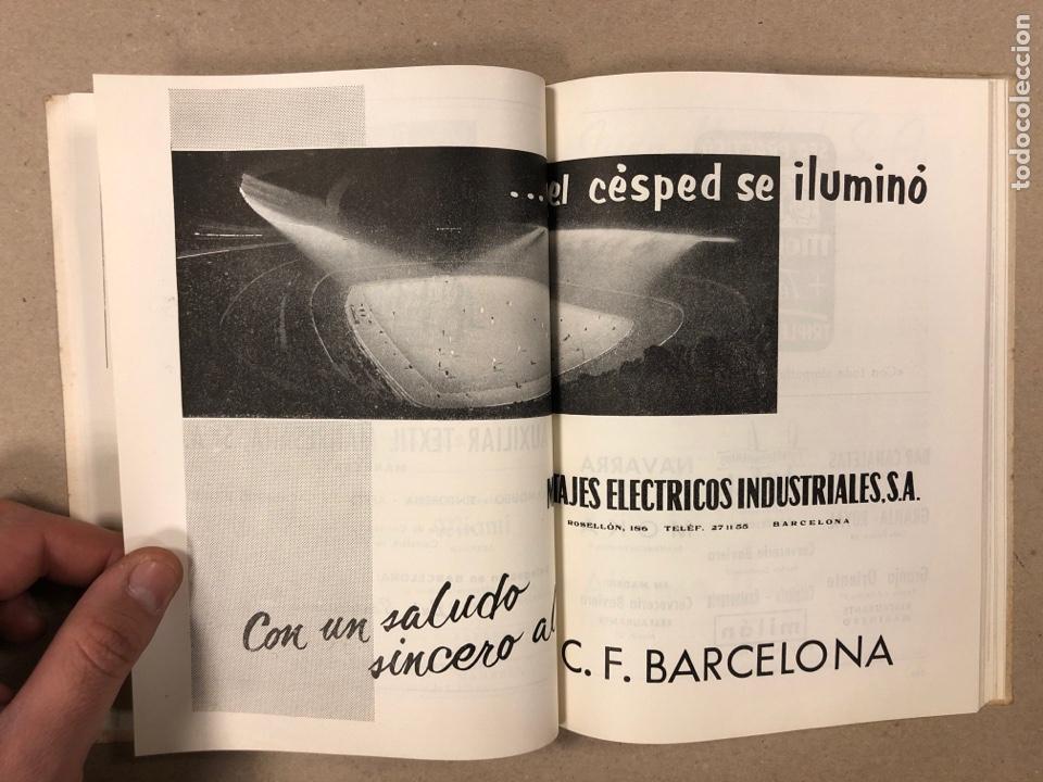 Coleccionismo deportivo: HOMENAJE DE CATALUÑA, ANDORRA Y PIRINEOS ORIENTALES AL CLUB DE FÚTBOL BARCELONA 1960. - Foto 7 - 195976205