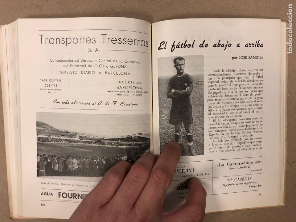 Coleccionismo deportivo: HOMENAJE DE CATALUÑA, ANDORRA Y PIRINEOS ORIENTALES AL CLUB DE FÚTBOL BARCELONA 1960. - Foto 10 - 195976205