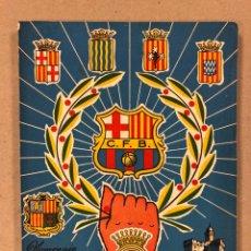 Coleccionismo deportivo: HOMENAJE DE CATALUÑA, ANDORRA Y PIRINEOS ORIENTALES AL CLUB DE FÚTBOL BARCELONA 1960.. Lote 195976205