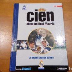 Colecionismo desportivo: LIBRO 100 AÑOS DEL REAL MADRID DIARIO AS TOMO 15 LA NOVENA COPA DE EUROPA. Lote 196320118