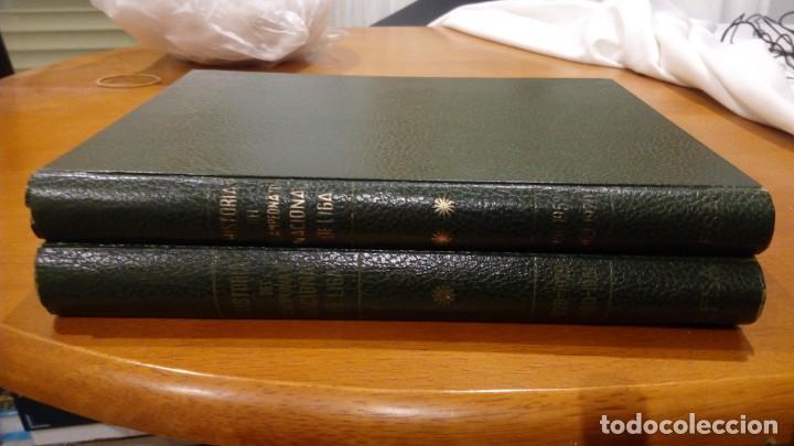HISTORIA DEL CAMPEONATO NACIONAL DE LIGA 2 TOMOS DE 1928-1970 EDITORIAL EFSA 1969 LIBRO (Coleccionismo Deportivo - Libros de Fútbol)