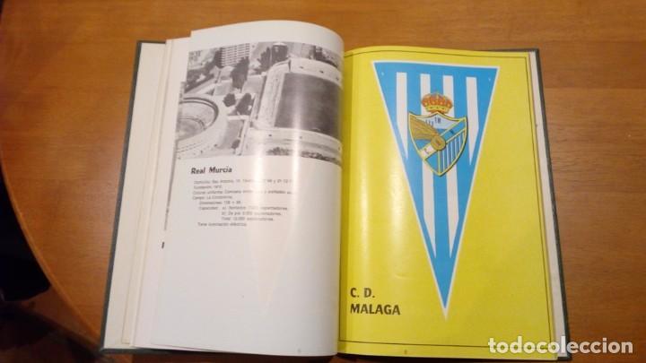 Coleccionismo deportivo: libro antiguo con banderines y estadios de equipos de liga años 60 editorial efsa ?? - Foto 3 - 196320411
