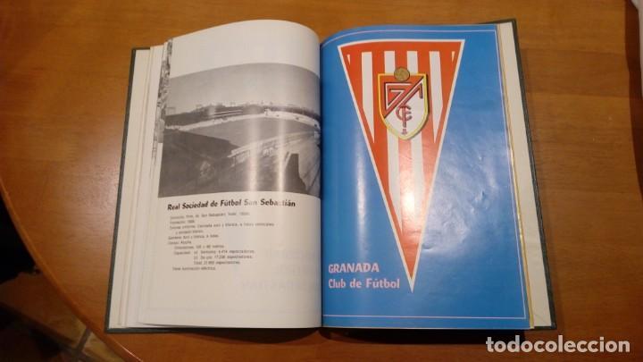 Coleccionismo deportivo: libro antiguo con banderines y estadios de equipos de liga años 60 editorial efsa ?? - Foto 5 - 196320411