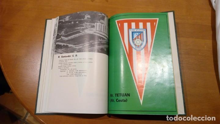 Coleccionismo deportivo: libro antiguo con banderines y estadios de equipos de liga años 60 editorial efsa ?? - Foto 6 - 196320411