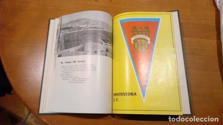 Coleccionismo deportivo: libro antiguo con banderines y estadios de equipos de liga años 60 editorial efsa ?? - Foto 7 - 196320411
