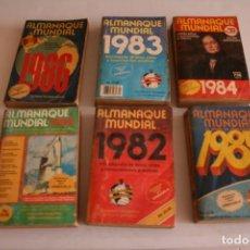Coleccionismo deportivo: ALMANAQUE MUNDIAL ,SUPLEMENTO ESPECIAL PARA VENEZUELA. 1980, 82, 83, 84,85,86.. Lote 198309091