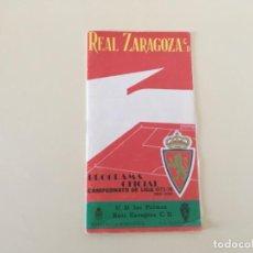 Coleccionismo deportivo: PROGRAMA REAL ZARAGOZA - LAS PALMAS 1973/74 ... ZKR. Lote 198946205