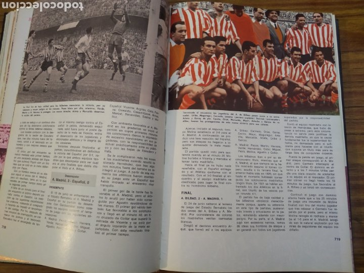 Coleccionismo deportivo: Historia del campeonato nacional de Copa 1900 1945 - 1945 1970 obra completa - Foto 3 - 198971851
