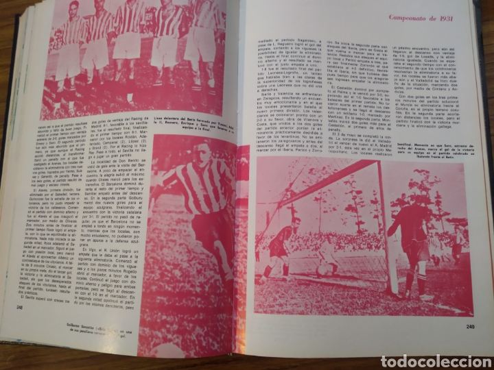 Coleccionismo deportivo: Historia del campeonato nacional de Copa 1900 1945 - 1945 1970 obra completa - Foto 10 - 198971851