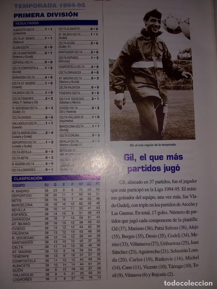 Coleccionismo deportivo: FERNANDO GALLEGO ARZUAGA. R. C. Celta. 1923-1998. 75 Años de Historia. RM78120. - Foto 8 - 71228727