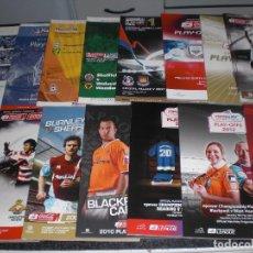 Coleccionismo deportivo: COLECCION 15 PROGRAMAS FINAL PLAY OFF CHAMPIONSHIP A PREMIER LEAGUE (VER RELACIÓN Y FOTOS)). Lote 199050357