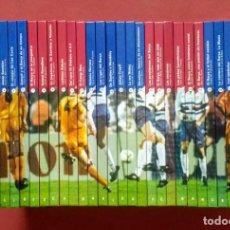 Coleccionismo deportivo: BIBLIOTECA BÁSICA DEL F. C. BARCELONA - COMPLETA - 30 TOMOS - EN CASTELLANO.. Lote 199343040