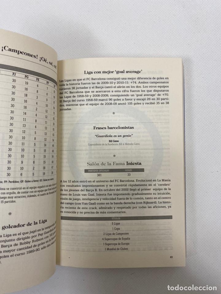 Coleccionismo deportivo: Libro Biblia FC Barcelona. De lectura obligada para cualquier Barcelonista. - Foto 3 - 199524215