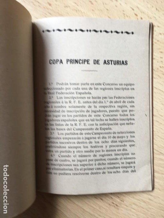 Coleccionismo deportivo: (M) LIBRO REAL FEDERACIÓN ESPAÑOLA DE FÚTBOL - ESTATUTOS Y REGLAMENTOS ESPECIALES, MADRID 1914 / 15 - Foto 2 - 200520070