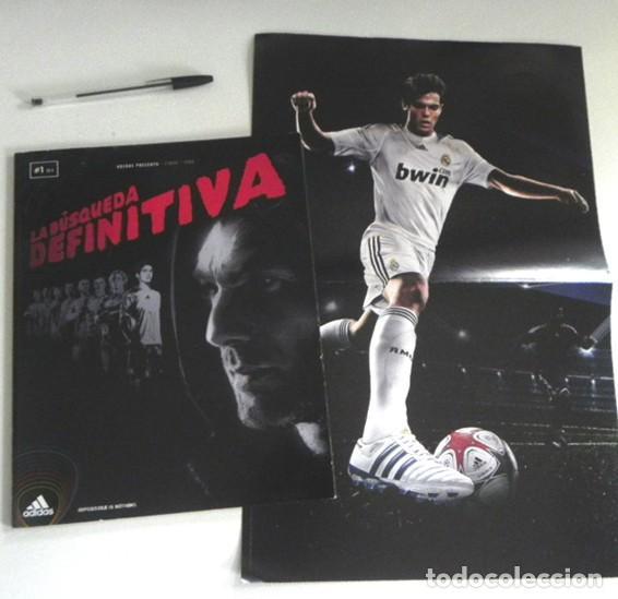 LA BÚSQUEDA DEFINITIVA CÓMIC DE KAKÁ REAL MADRID FÚTBOL BIOGRAFÍA PÓSTER - FUTBOLISTA ADIDAS ZENTNER (Coleccionismo Deportivo - Libros de Fútbol)