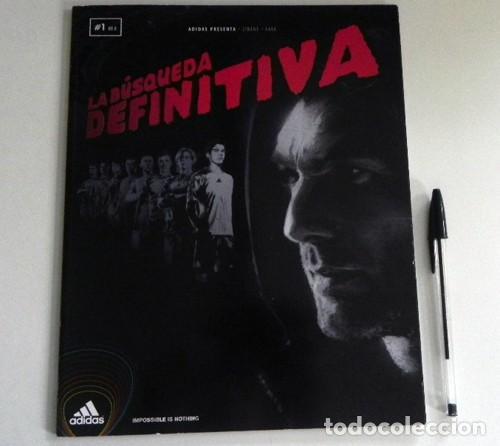 Coleccionismo deportivo: LA BÚSQUEDA DEFINITIVA CÓMIC DE KAKÁ REAL MADRID FÚTBOL BIOGRAFÍA PÓSTER - FUTBOLISTA ADIDAS ZENTNER - Foto 2 - 201215785