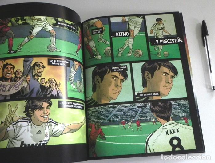 Coleccionismo deportivo: LA BÚSQUEDA DEFINITIVA CÓMIC DE KAKÁ REAL MADRID FÚTBOL BIOGRAFÍA PÓSTER - FUTBOLISTA ADIDAS ZENTNER - Foto 4 - 201215785