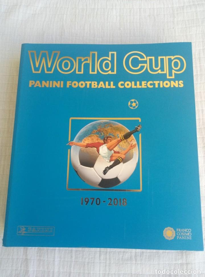 ALBUM PANINI. - WORLD CUP PANINI COLLECTION 1970-2018 - (Coleccionismo Deportivo - Libros de Fútbol)