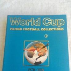 Coleccionismo deportivo: ALBUM PANINI. - WORLD CUP PANINI COLLECTION 1970-2018 -. Lote 201369778
