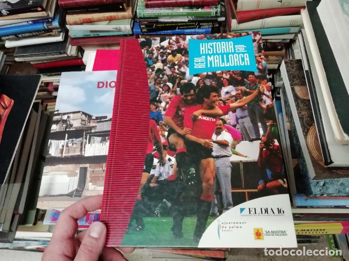Coleccionismo deportivo: HISTORIA DEL REAL MALLORCA. EL DIA 16. 1ª EDICIÓN 1991.TODO UNA JOYA!!!!!!!!!!!!!!!!!!!!. VER FOTOS. - Foto 2 - 215713771