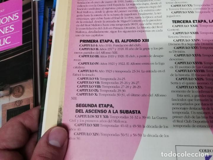Coleccionismo deportivo: HISTORIA DEL REAL MALLORCA. EL DIA 16. 1ª EDICIÓN 1991.TODO UNA JOYA!!!!!!!!!!!!!!!!!!!!. VER FOTOS. - Foto 4 - 215713771