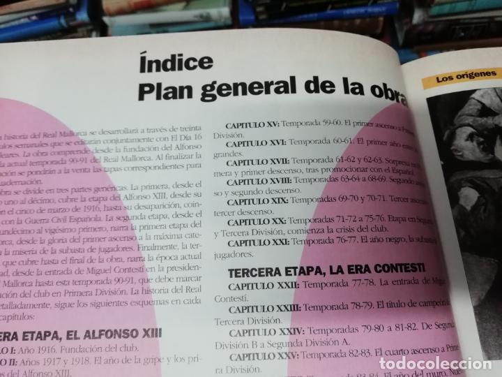 Coleccionismo deportivo: HISTORIA DEL REAL MALLORCA. EL DIA 16. 1ª EDICIÓN 1991.TODO UNA JOYA!!!!!!!!!!!!!!!!!!!!. VER FOTOS. - Foto 5 - 215713771