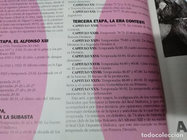 Coleccionismo deportivo: HISTORIA DEL REAL MALLORCA. EL DIA 16. 1ª EDICIÓN 1991.TODO UNA JOYA!!!!!!!!!!!!!!!!!!!!. VER FOTOS. - Foto 6 - 215713771