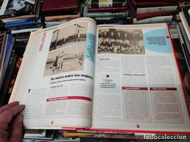 Coleccionismo deportivo: HISTORIA DEL REAL MALLORCA. EL DIA 16. 1ª EDICIÓN 1991.TODO UNA JOYA!!!!!!!!!!!!!!!!!!!!. VER FOTOS. - Foto 16 - 215713771
