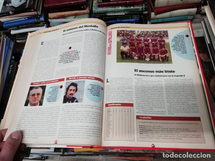 Coleccionismo deportivo: HISTORIA DEL REAL MALLORCA. EL DIA 16. 1ª EDICIÓN 1991.TODO UNA JOYA!!!!!!!!!!!!!!!!!!!!. VER FOTOS. - Foto 21 - 215713771