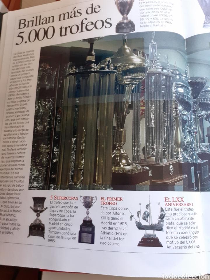 Coleccionismo deportivo: Libro AS la fábrica de sueños, 50 años del Bernabéu, año 1998 - Foto 2 - 202791285