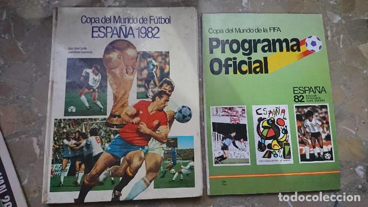 REVISTA Y LIBRO PASTA DURA PROGRAMA OFICIAL Y COPA DEL MUNDO DE FUTBOL ESPAÑA 1982 FIFA 82 (Coleccionismo Deportivo - Libros de Fútbol)