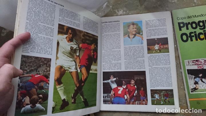 Coleccionismo deportivo: REVISTA Y LIBRO PASTA DURA PROGRAMA OFICIAL Y COPA DEL MUNDO DE FUTBOL ESPAÑA 1982 FIFA 82 - Foto 2 - 204077842