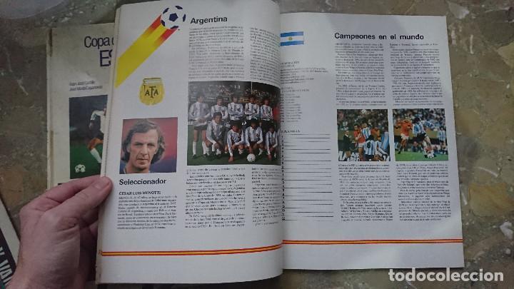 Coleccionismo deportivo: REVISTA Y LIBRO PASTA DURA PROGRAMA OFICIAL Y COPA DEL MUNDO DE FUTBOL ESPAÑA 1982 FIFA 82 - Foto 3 - 204077842