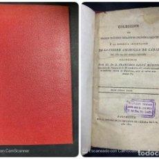 Coleccionismo deportivo: COLECCIÓN DE TROZOS INÉDITOS DE LA FIEBRE AMARILLA DE CADIZ. BARCELONA, 1800.. Lote 204128832