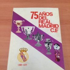 Coleccionismo deportivo: 75 AÑOS DEL REAL MADRID. Lote 204977083