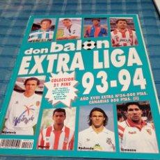 Colecionismo desportivo: EXTRA DON BALON LIGA 93/94 - ESPECIAL GUIA LIGA FUTBOL TEMPORADA 1993/1994 Nº 24 EXTRA LIGA DON BAL. Lote 205614441
