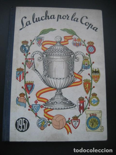 FUTBOL DINAMICO COPA DE ESPAÑA 1957. FOTOS EQUIPOS Y PARTIDOS. CAMPEON BARÇA (Coleccionismo Deportivo - Libros de Fútbol)