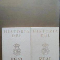 Coleccionismo deportivo: LIBROS HISTORIA DEL REAL MADRID F.C., UNIVERSO EDITORIAL, 1991. Lote 205776906