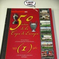 Coleccionismo deportivo: 50 AÑOS DE LA COPA DE EUROPA, TOMO Nº 1 (1953 - 2005), AS, E2. Lote 206176598