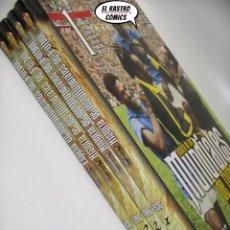 Coleccionismo deportivo: HISTORIA DE LOS MUNDIALES DE FUTBOL, TOMOS Nº 1 2 3 Y 4, COLECCIÓN COMPLETA, AS, E2. Lote 206178182