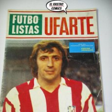 Coleccionismo deportivo: REVISTA FUTBOLISTAS Nº 9, UFARTE, ED. MAISAL AÑO 1973, MUY DIFICIL, (17B). Lote 206179318